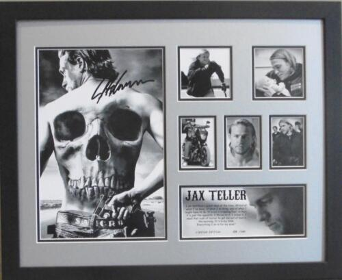 SONS OF ANARCHY JAX TELLER SIGNED LIMITED EDITION FRAMED MEMORABILIA