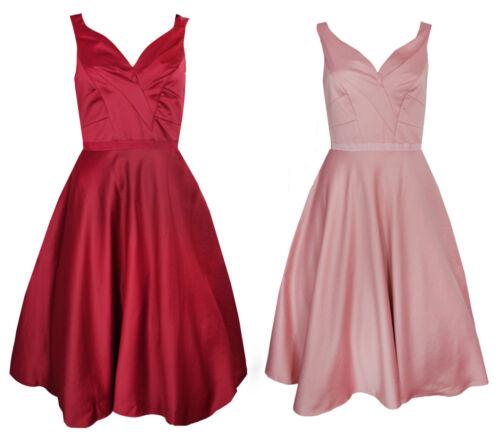 MONSOON satin tulle party ball formal bridesmaid dress RRP £99 UK 6-18 Pink Red