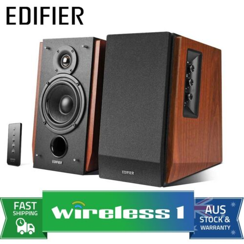 Edifier R1700BT - 2.0 Lifestyle Studio Bluetooth Speakers 66W RMS - Brown