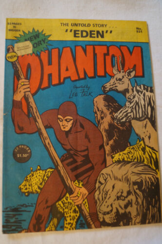 CLASSIC PHANTOM COMIC - Phantom - Eden - The Untold Story