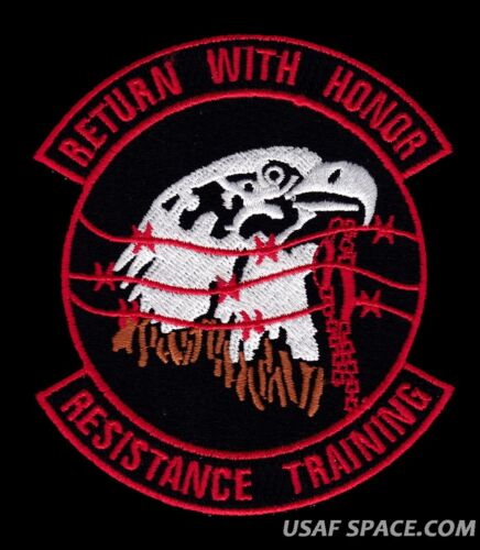 USAF SERE RESISTANCE TRAINING - RETURN WITH HONOR - AIR FORCE MILITARY PATCHOther Space Travel - 416