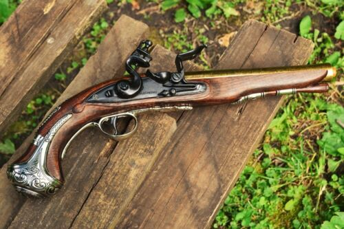 George Washington 1748 Flintlock Pistol - Colonial Revolutionary - Denix ReplicaReenactment & Reproductions - 156378