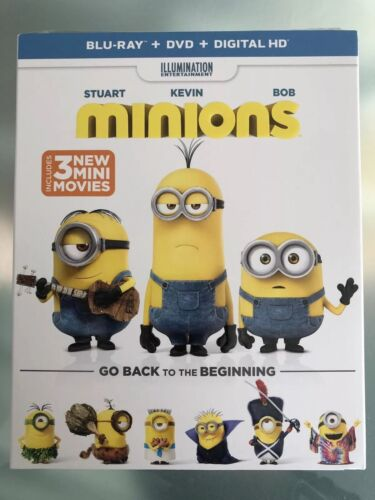 MINIONS****BLU-RAY****REGION FREE****NEW & SEALED