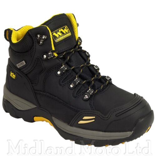 Wood World Safety Boots Steel Toe Cap Waterproof Leather  Woodworld. WW9Hi-P