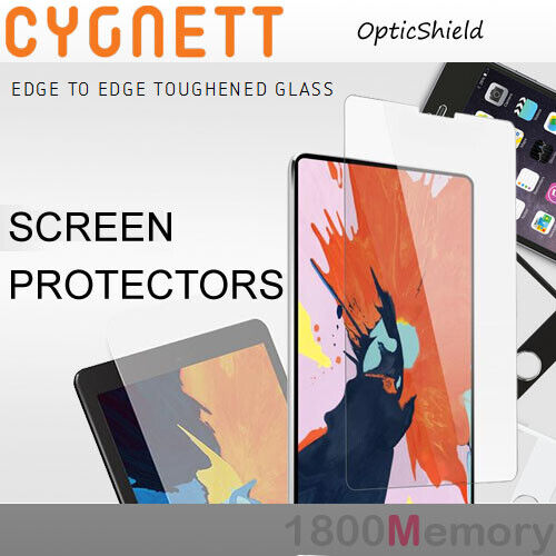 Cygnett OpticShield Tempered Glass Screen Protector 9H 2.5D for Apple iPad
