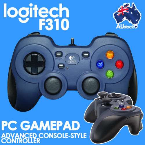 Gaming Controller USB Gamepad Comfortable Wired PC F310 Logitech 940-000112