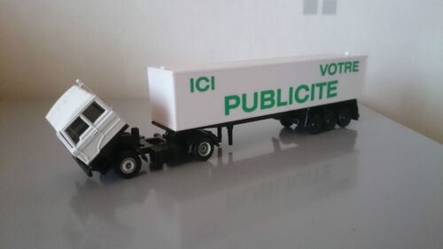 Camion publicitaire EFSI DAF 3300 1/87