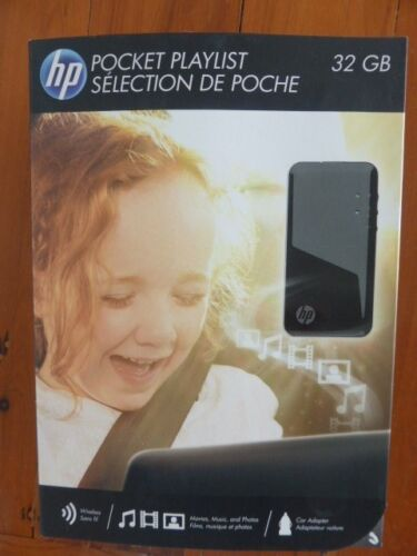 HP POCKET PLAYLIST WiFi 32 GB NEW MOBILE UP TO 5 DEVICES UNOPENED 1/2 PRICE.
