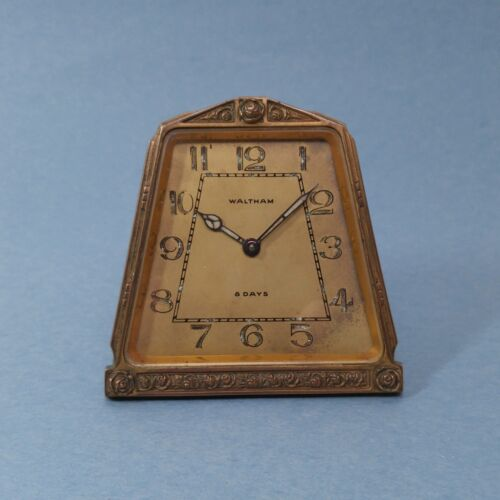 Art nouveau clock antiques us for Small clocks for crafts