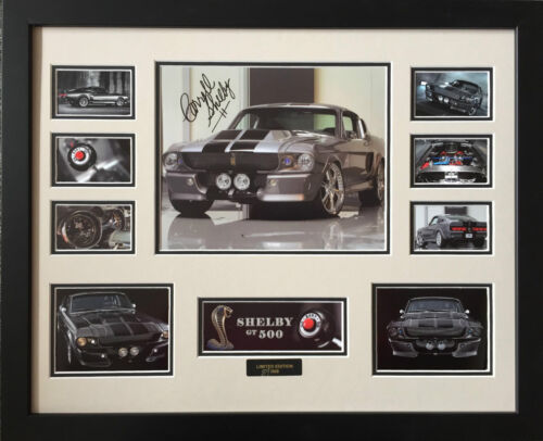 SHELBY GT-500 SIGNED LIMITED EDITION FRAMED MEMORABILIA