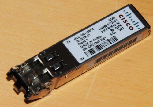 Cisco GLC-GE-100FX Transceiver Module Fully Tested  6month Warranty Tax Invoice