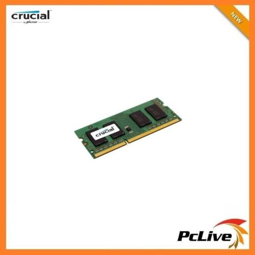NEW Crucial 8GB DDR3 1600 Mhz Memory SODIMM 1.35V RAM for Laptop PC3 12800 DDR3L