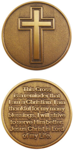 Christian Cross / Jesus Christ is Lord - Challenge Coin 2575Challenge Coins - 74710
