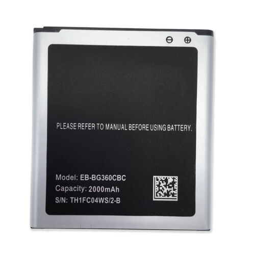 2000mAh Replacement Battery For Samsung Galaxy Core Prime SM-G360T EB-BG360CBZ