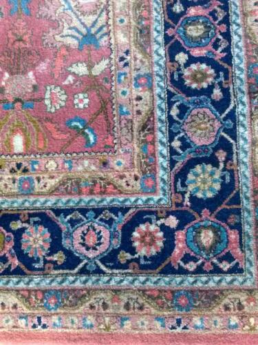 Beautiful Hand Knotted Wool Area Rug Copper Rose approx. 8'x10'