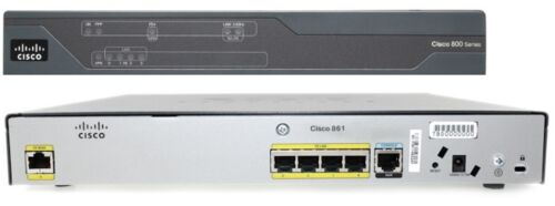 Cisco 861 Integrated Services Router with P/S