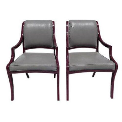 """A pair of Arm  Chairs """" Century Hickory NC"""" Hickory Furniture"""