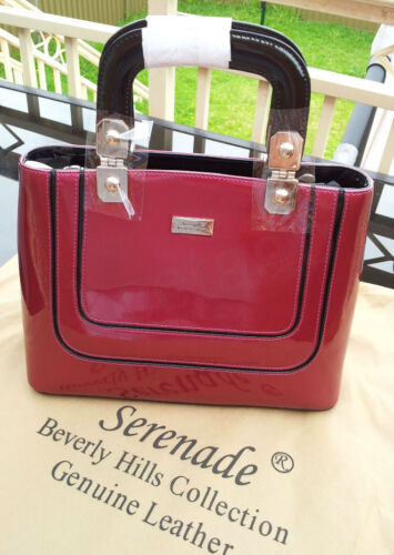 Serenade - Pearlescent Leather Evening Bag