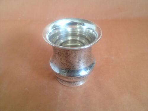 Vintage Sterling Silver 'W' Toothpick Holder NO MONOGRAM