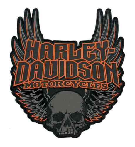 HARLEY DAVIDSON Revamped wings  PATCH