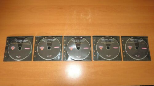 NEW YORK KNICKS - THE COMPLETE HISTORY DVD ( 10 DISC ) ~ DISCS ONLY, NO CASE