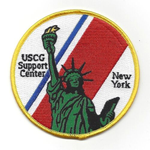 United States Coast Guard USCG Support Center New York Military PatchCoast Guard - 66530