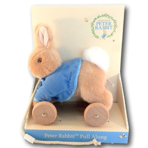 PETER RABBIT Pull Along Toy by Beatrix Potter