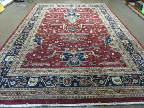"8' x 11' 7"" Vintage Power Loomed Couristan European Wool Rug Belgium Forbes Nice"
