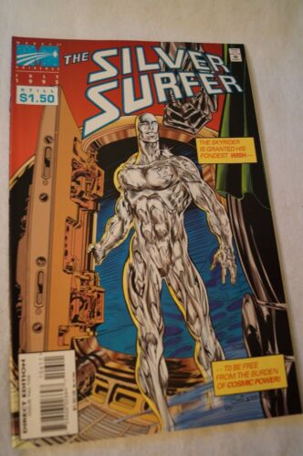 CLASSIC MARVEL COMIC - The Silver Surfer - Crowd Control.