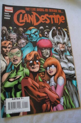 CLASSIC MARVEL COMIC BOOK - The Clandestine - Limited Series - Part 1 of 5
