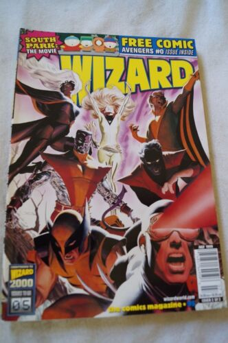 CLASSIC WIZARD - Comic Book Magazine - Heroes, Info, Facts, Articles.- No Comic