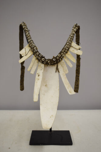 Papua New Guinea Bailer Shell Ceremonial Dance Bride Necklace Southern Highland