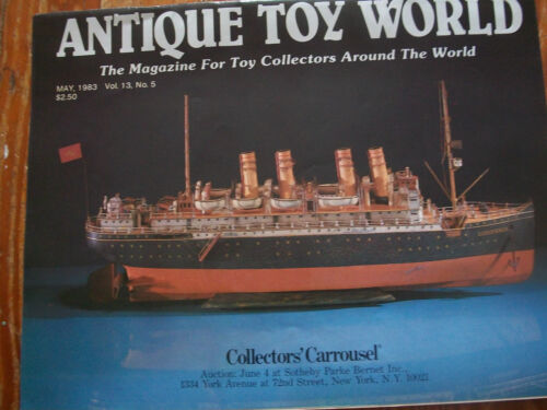 1983 Antique Toy World Magazine Dayton Group Roadsters Boats