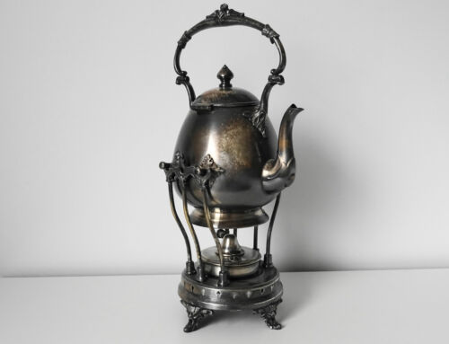 Art Nouveau German Gerhardi & Co Samowar Samovar Teapot Water heater with burner
