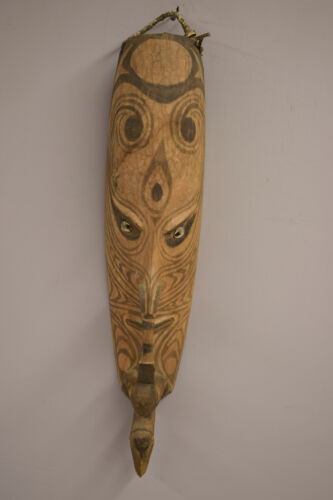 Papua New Guinea Wood Mask Middle Sepik River Mwai People