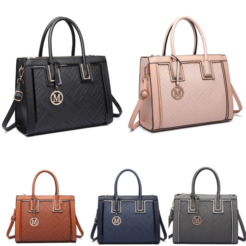 Ladies Designer Tote Shoulder Raised Code Handbag PU Leather Work Bag  <br/> 1st class ,express delivery available ,1-2 days arrives