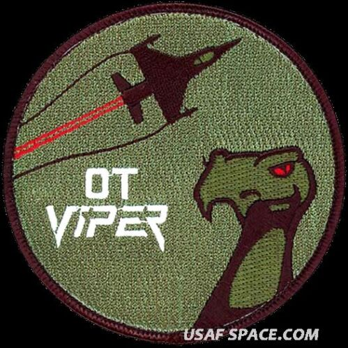 USAF 422nd TEST & EVALUATION SQUADRON -F-16 VIPER- Nellis AFB, NV ORIGINAL PATCHOther Exploration Missions - 1346