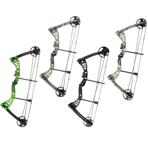30-55 lb Black / Green / Camo Camouflage Archery Hunting Compound Bow 150 75 40Compound - 20838