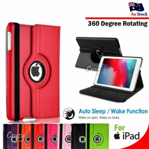 """For Apple iPad Pro 9.7 10.5"""" 11"""" 12.9"""" 2018 2020 Smart Leather Flip Case Cover"""