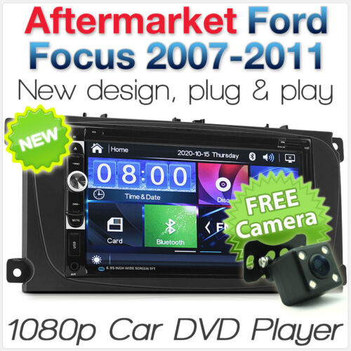 Car DVD MP3 Player Ford Focus 2007 2008 2009 Mk2 Radio Stereo Head Unit USB CD