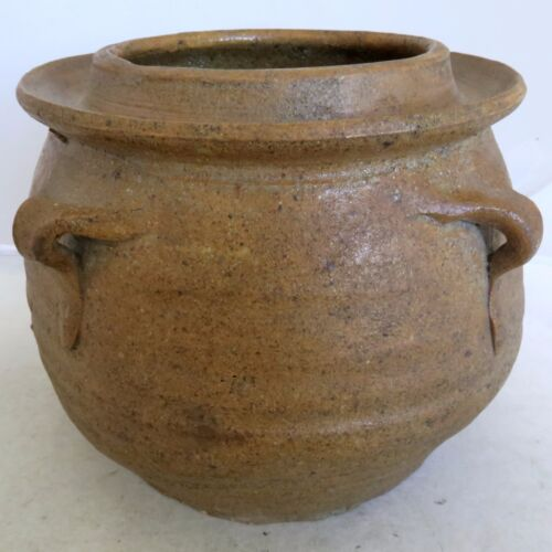 """6.1"""" Song Dynasty ? Antique Chinese Brown Glazed Earthenware Storage Vessel"""