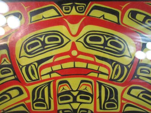 *STUNNING* NORTHWEST PACIFIC COAST NATIVE AMERICAN INDIAN  PAINTING