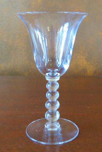 "Imperial Candlewick #3400 5 ½"" Wine Goblet(s)"