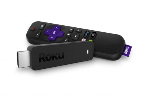 Roku Streaming Stick | Portable, Power-Packed Streaming Device with Voice Remote <br/> Authorized Roku Dealer - Refurbished by Roku