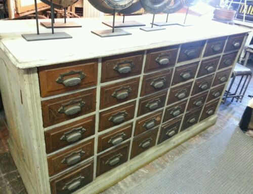 Antique 30 Drawer American Apothecary Cabinet