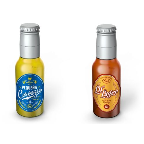 (You Pick) Fred & Friends Chill Baby Beer Bottle Lil Lager or Cerveza