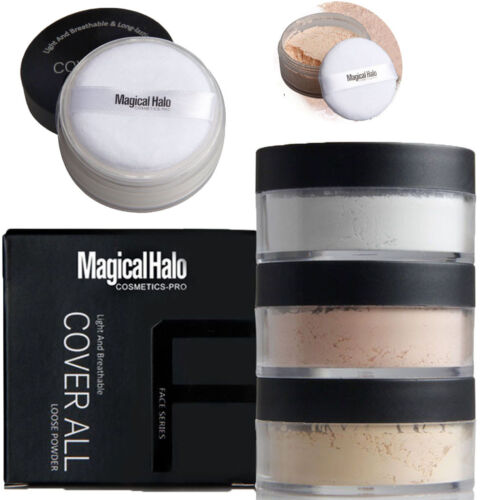 Smooth Foundation Waterproof Loose Finish Powder Face Translucent Makeup New
