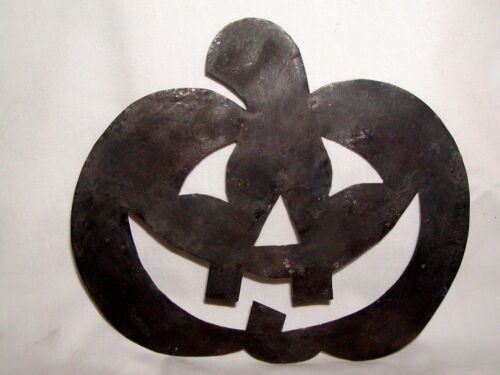 Primitive Early 17th Century Style Tin Jack O' Lantern Pumpkin Quilting Template
