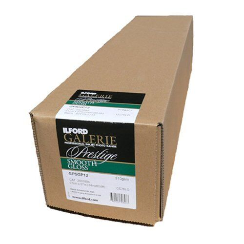 Ilford Smooth Gloss 310gsm 61cm x27mtr (24inch roll)