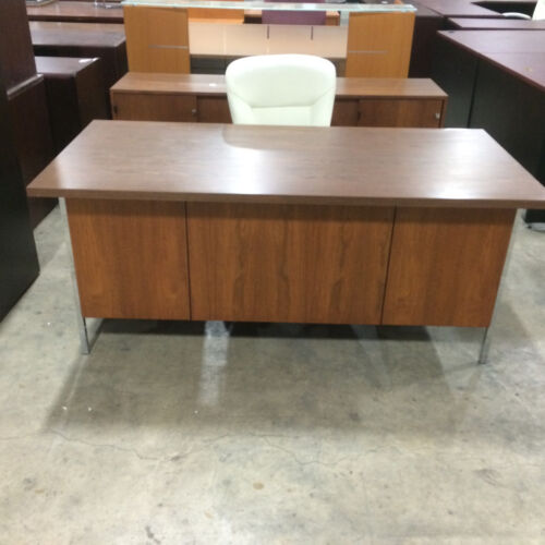 KNOLL desk and credenza set